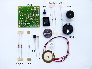 Image showing the electronic parts