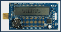 SIM3L 1xx-Evaluation board