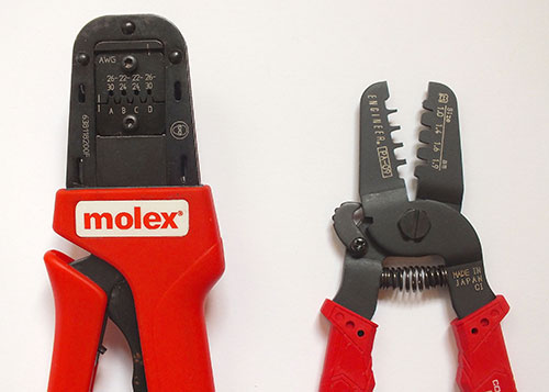a comparison of molex kk 0 1 crimp tools spell foundry. Black Bedroom Furniture Sets. Home Design Ideas