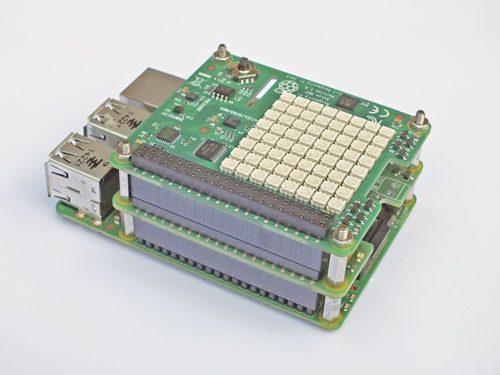 Raspberry Pi HAT Stacking Standoff Kit on an B2