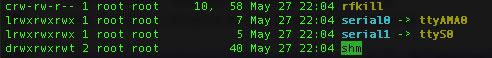 Swapped Raspberry PI 3 serial port aliases