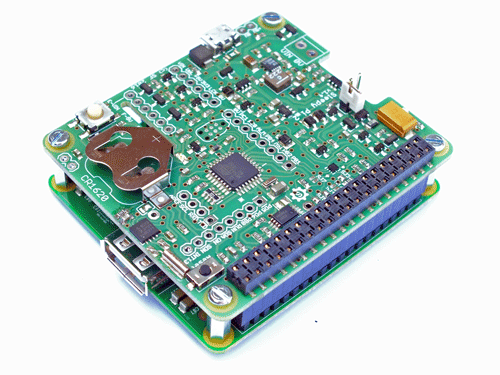 Sleepy Pi 2 with Short Pin Header